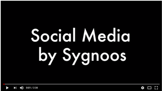 Video popup Social media by Sygnoos