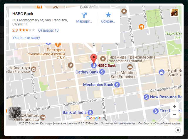Map Of Us With Popups jquery plugin to create google maps popup