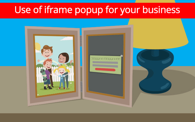 Iframe popup