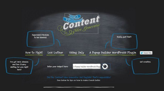 Ways to create killer titles for your posts popup builder for Portent title generator