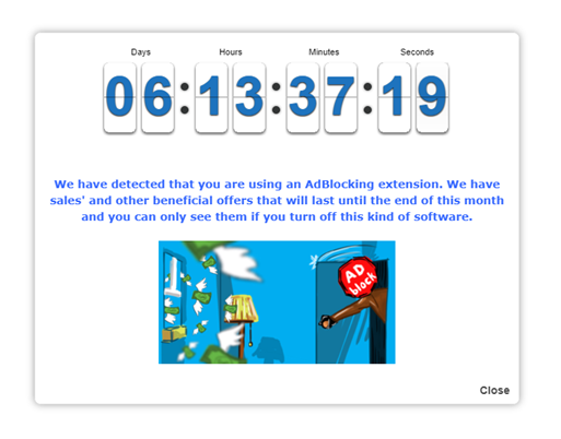 AdBlock-event-given-to-Countdown-popup
