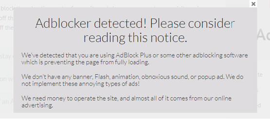 AdBlocker-detected-Please-consider-reading-this-notice turn off AdBlock to see ads on our site
