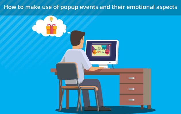 popup events and their emotional aspects