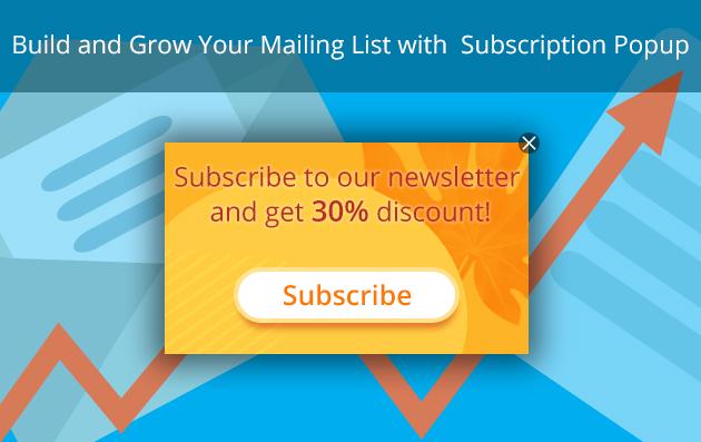 subscription popup