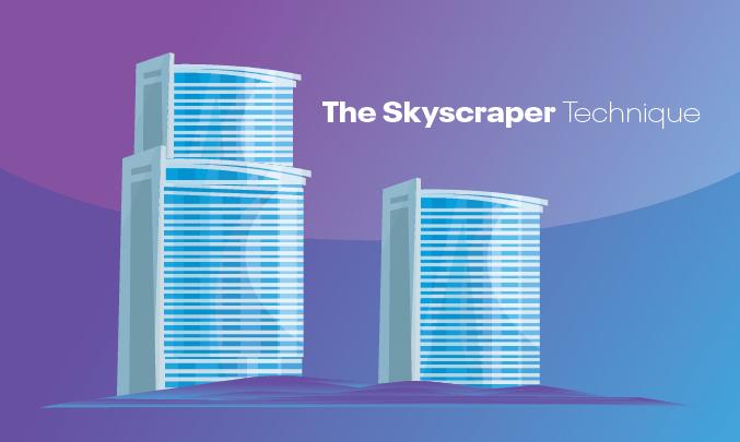 link building skyscraper technique